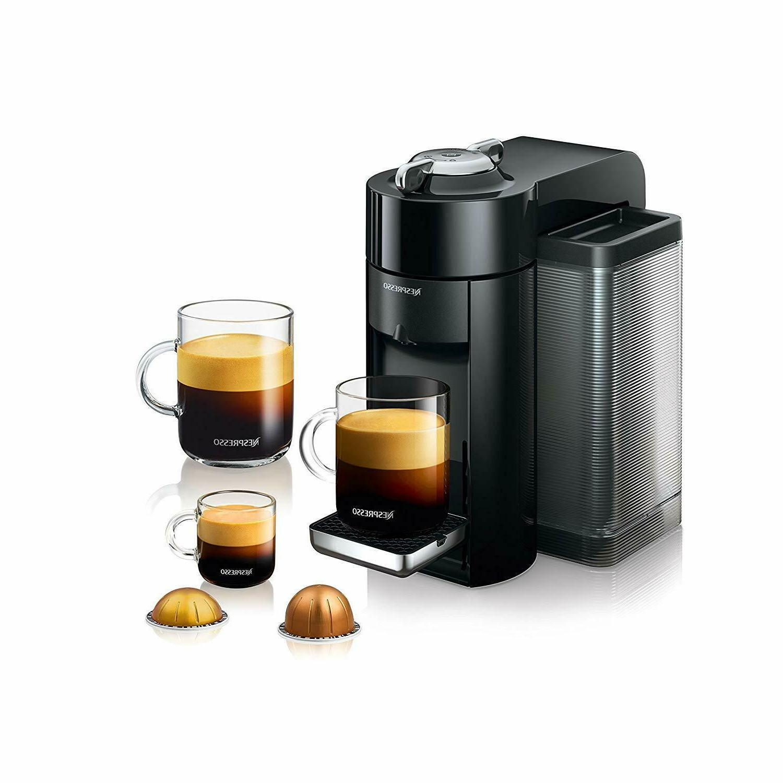 Nespresso Vertuo Evoluo and Espresso by
