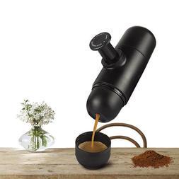 Mini Manual Portable Espresso Coffee Maker Handheld Pressure