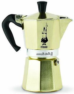 Bialetti Moka Express Italian Espresso Coffee Maker 6-Cup Go