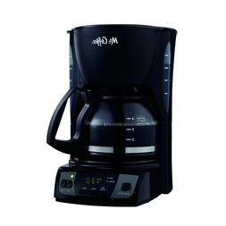 Mr. Coffee 5 Cup Programmable Coffee Maker w 32.5 Cord Conve
