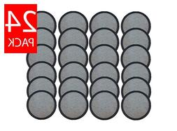 24 Mr. Coffee Replacement Charcoal Water Filter Disks for AL