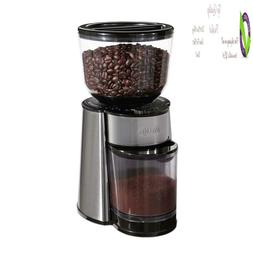 Mr. Coffee Automatic Burr Mill Coffee Grinder With 18 Custom