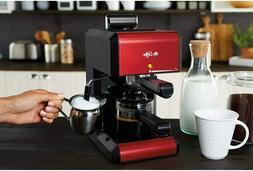 Mr. Coffee Espresso Machine Automatic Coffee Brewer Steam Ca