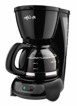 Mr. Coffee Machines 4-Cup Switch Maker, Black