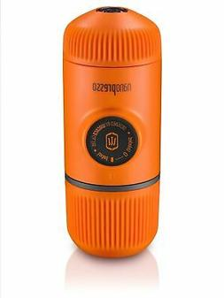 Wacaco Nanopresso Orange Patrol Portable Espresso Machine Co