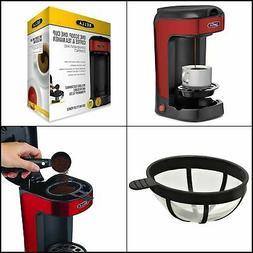 BELLA One Scoop Single Serve Personal Coffee and Tea Maker,
