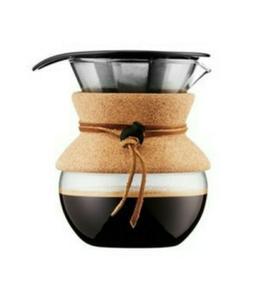 Bodum Pour Over 4 Cup Coffee Maker, With Plastic Scooper! Ne