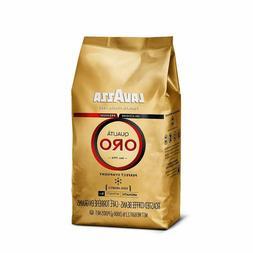 Lavazza Qualita Oro Italian Coffee Whole Bean, 2.2lb