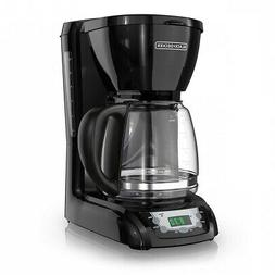 Quick Touch Programmable Coffeemaker, 12 Cup Auto Coffee Mac
