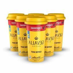 Ready to Drink Bottled Gevalia Coffee Shots 100mg Caffeine E