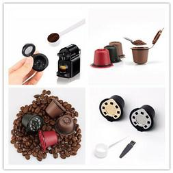 Refillable Reusable Coffee Capsules Pods For Nespresso Machi