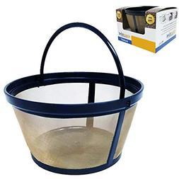 reusable 8 12 cup basket filter fits