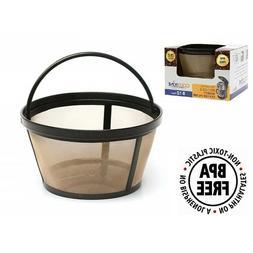 GoldTone Reusable 8-12 Cup Basket Filter Fits Mr. Coffee Mac