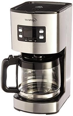 Capresso SG300 SS 12 Cup Drip Coffee Maker, New