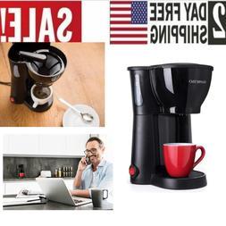 Single Serve Coffee Maker Cup Machine Pod Size Compact Green