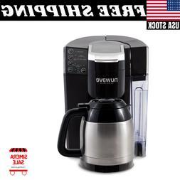 Single Serve/Full Pot Smart Coffee Maker Brewer Machine Syst