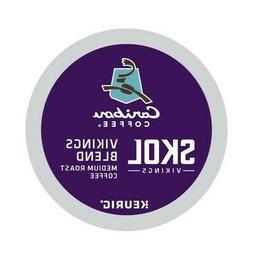 Caribou Coffee, SKOL Vikings Blend, Single-Serve Keurig K-Cu