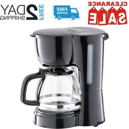 Small Coffee Maker With Pot Electric Countertop Machine For