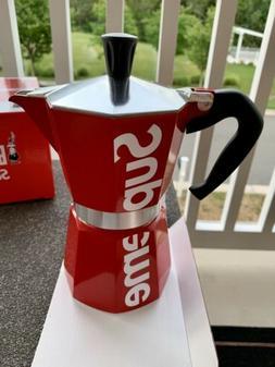 SUPREME Bialetti Moka Express Coffee Maker SS19 *NEW *FAST S