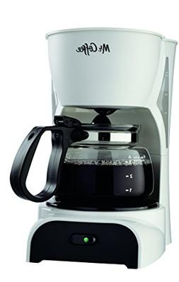 Mr. Coffee Mr. Coffee 4-Cup Switch Coffeemaker - White