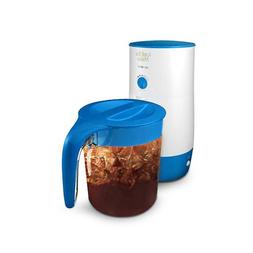 Mr. Coffee TM39P Fresh Iced Tea Maker, 3-Quart, Blue Color N