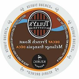 Tully's French Roast Grand Dark DECAF Coffee * 1 Box of 24 K