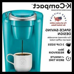 Keurig Turquoise K-Cup Pod Coffee Maker Space Saver Compact