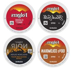 Folgers Variety Pack K-Cup Coffee Pods for Keurig Machines,