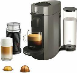 Nespresso VertuoPlus Coffee and Espresso Machine Bundle By D