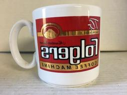 Vintage T.G. Sheppard's Folgers Coffee Machine Coffee Cup Ma