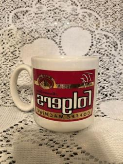Vintage T.G. Sheppard's Folgers Coffee Machine Mug