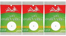 White Disc Coffee Filter