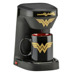Wonder Woman Single 1 Cup Coffee Maker Mug Set Kitchen Machi